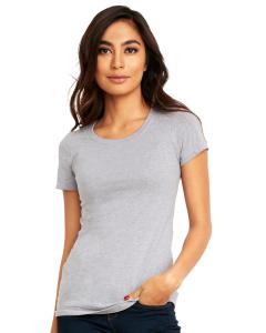 Heather Gray Ladies' Ideal T-Shirt