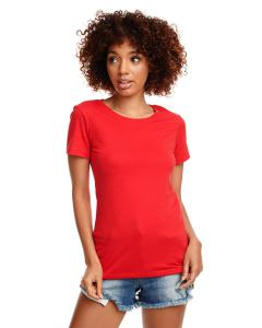 Red Ladies' Ideal T-Shirt