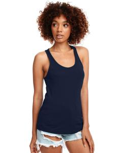 Midnight Navy Ladies Ideal Racerback Tank