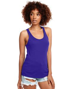 Purple Rush Ladies Ideal Racerback Tank