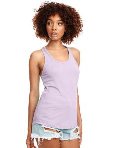 Lilac Ladies Ideal Racerback Tank