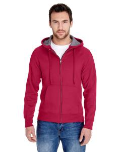 Deep Red Adult 7.2 oz. Nano Full-Zip Hood