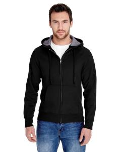 Black Adult 7.2 oz. Nano Full-Zip Hood