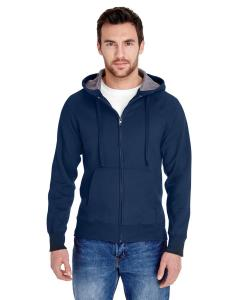 Navy Adult 7.2 oz. Nano Full-Zip Hood