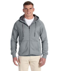 Vintage Gray Adult 7.2 oz. Nano Full-Zip Hood