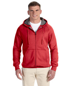 Vintage Red 7.2 oz. Nano Full-Zip Hood