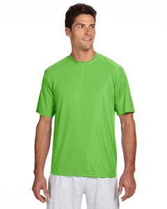 Lime Men's Short-Sleeve Cooling Performance Crew