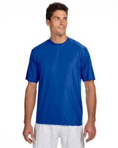 Royal Men's Short-Sleeve Cooling Performance Crew