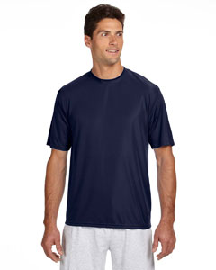 Navy Men's Short-Sleeve Cooling Performance Crew