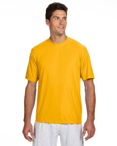 Gold Men's Short-Sleeve Cooling Performance Crew