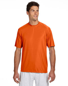 Athletic Orange Men's Short-Sleeve Cooling Performance Crew