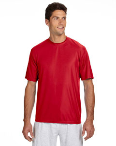 Scarlet Men's Short-Sleeve Cooling Performance Crew