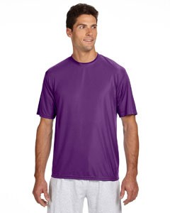 Purple Men's Short-Sleeve Cooling Performance Crew