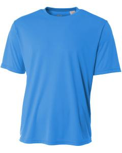 Electric Blue Men's Short-Sleeve Cooling Performance Crew