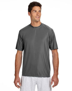 Graphite Men's Short-Sleeve Cooling Performance Crew