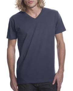 Indigo Men's Premium Fitted Short-Sleeve V-Neck Tee