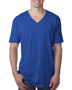 Royal Men's Premium Fitted Short-Sleeve V-Neck Tee