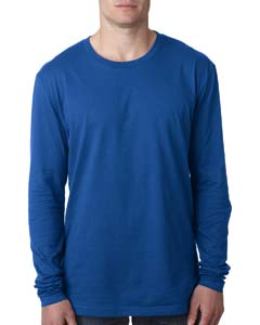 Royal Men's Premium Fitted Long-Sleeve Crew Tee