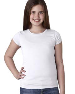 White Youth Princess Tee