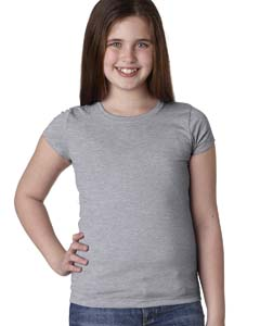 Heather Gray Youth Princess Tee