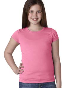 Hot Pink Youth Princess Tee