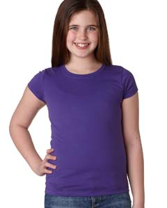 Purple Rush Youth Princess Tee