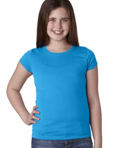Turquoise Youth Princess Tee
