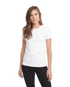 White Ladies Boyfriend Tee