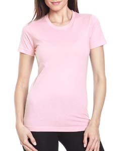 Light Pink Ladies Boyfriend Tee