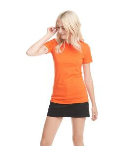 Classic Orange Ladies Boyfriend Tee