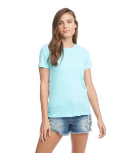 Light Blue Ladies Boyfriend Tee