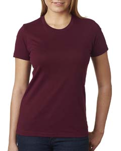 Maroon Ladies Boyfriend Tee
