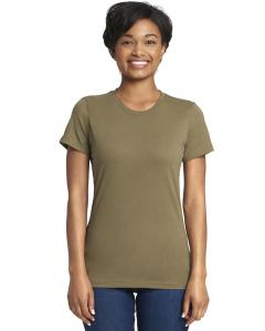 Military Green Ladies Boyfriend Tee