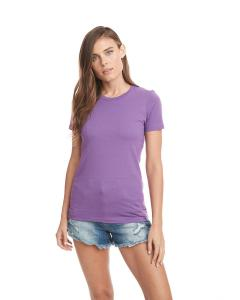 Purple Berry Ladies Boyfriend Tee