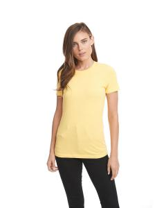 Vibrant Yellow Ladies Boyfriend Tee