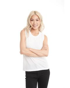 White Ladies' Festival Muscle Tank