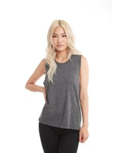 Charcoal Ladies' Festival Muscle Tank