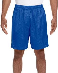 Royal Adult Seven Inch Inseam Mesh Short