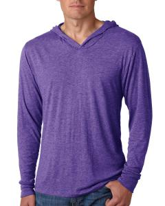 Purple Rush Unisex Triblend Long-Sleeve Hoody