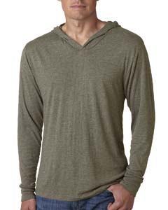 Venetian Gray Unisex Triblend Long-Sleeve Hoody