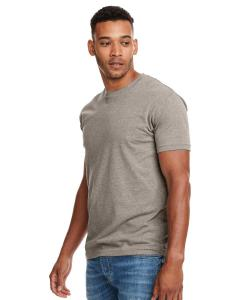 Warm Gray Men's Premium Fitted CVC Crew Tee