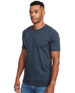 Indigo Men's Premium Fitted CVC Crew Tee