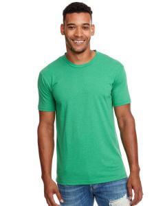 Kelly Green Men's Premium Fitted CVC Crew Tee