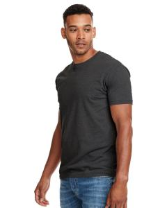 Charcoal Men's Premium Fitted CVC Crew Tee