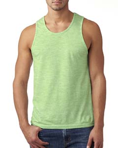 Apple Green Men's Premium Fitted CVC Tank