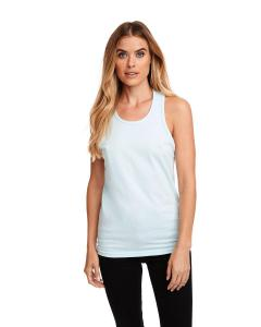 Ice Blue Men's Premium Fitted CVC Tank