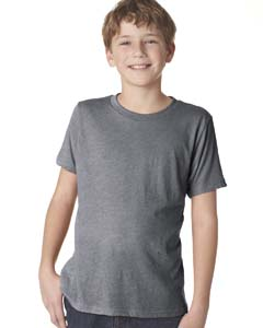 Premium Heather Youth Triblend Crew