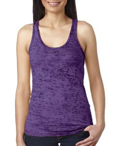 Purple Rush Ladies' Burnout Racerback Tank