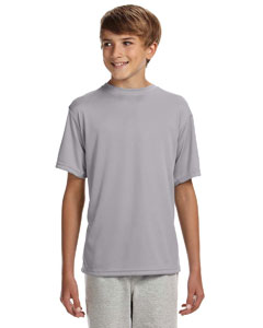 Silver Youth Cooling Performance T-Shirt