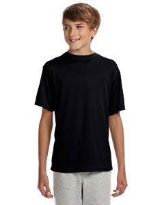 Black Youth Cooling Performance T-Shirt